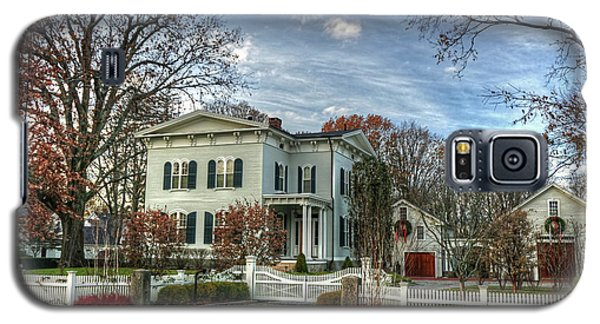 Amos Tuck House In Late Autumn Galaxy S5 Case