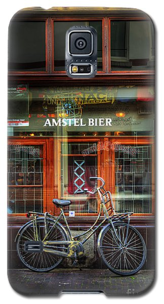 Amstel Bier Bicycle Galaxy S5 Case