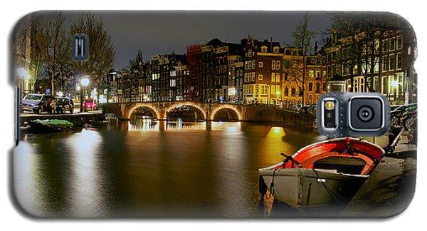 Amsterdam At Night Galaxy S5 Case