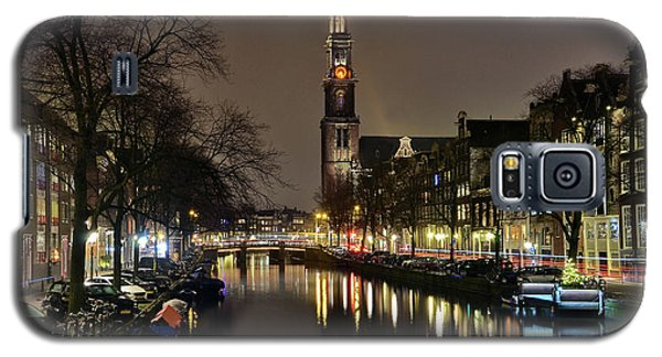 Amsterdam By Night - Prinsengracht Galaxy S5 Case