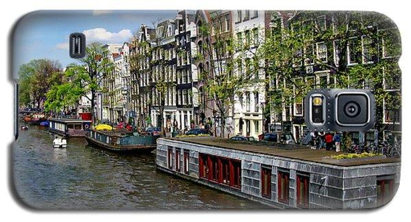Amsterdam Canal Galaxy S5 Case by Anthony Dezenzio