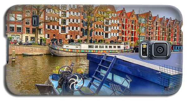 Amsterdam Houseboats Galaxy S5 Case by Nadia Sanowar