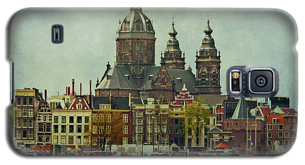 Amsterdam Skyline Galaxy S5 Case