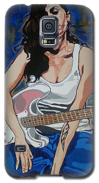 Amy Winehouse Galaxy S5 Case by Rachel Natalie Rawlins