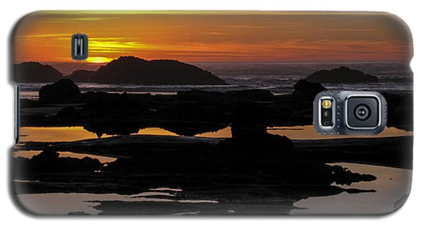 An Adequate Sunset Galaxy S5 Case
