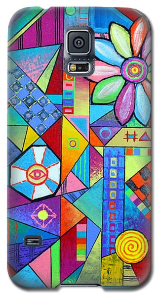 An All Seeing Eye Galaxy S5 Case by Jeremy Aiyadurai