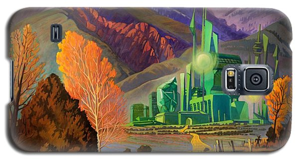 Galaxy S5 Case featuring the painting Oz, An American Fairy Tale by Art West