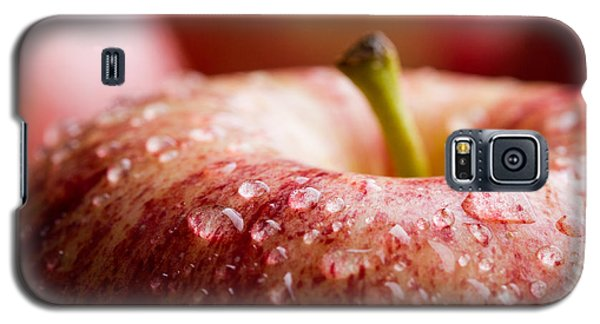 Galaxy S5 Case featuring the photograph An Apple A Day... by Yvette Van Teeffelen