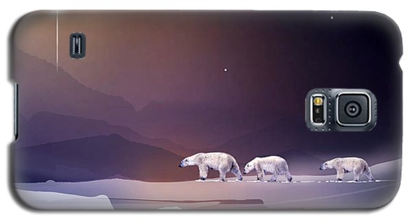 An Arctic Holiday Galaxy S5 Case