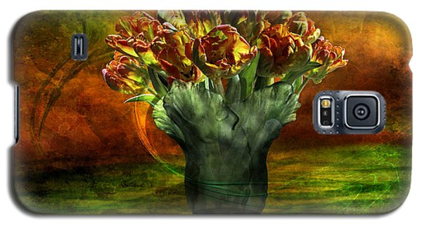 An Armful Of Tulips Galaxy S5 Case