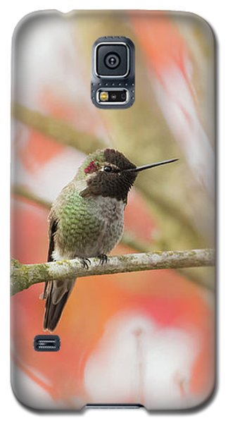 Galaxy S5 Case featuring the photograph An Autumn Afternoon by Angie Vogel