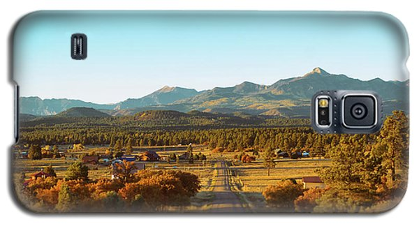 An Autumn Evening In Pagosa Meadows Galaxy S5 Case