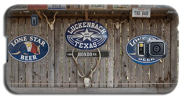 An Eclectic Display In Luckenbach Galaxy S5 Case