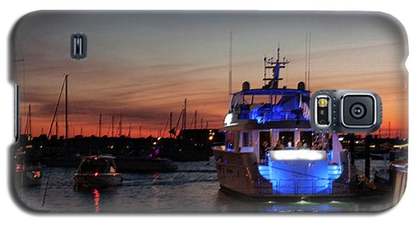 Galaxy S5 Case featuring the photograph An Evening In Newport Rhode Island II by Suzanne Gaff