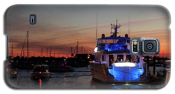 Galaxy S5 Case featuring the photograph An Evening In Newport Rhode Island Iv by Suzanne Gaff