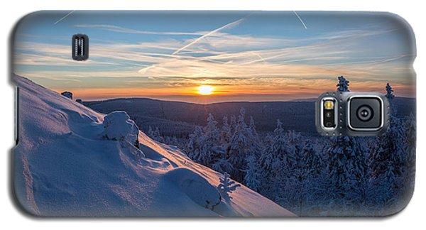 an evening on the Achtermann, Harz Galaxy S5 Case