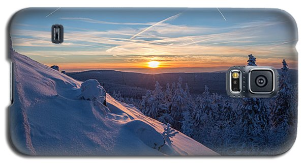 an evening on the Achtermann, Harz Galaxy S5 Case