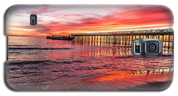 Seacliff Sunset Galaxy S5 Case by Lora Lee Chapman