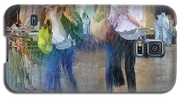 Galaxy S5 Case featuring the photograph An Odd Sharp Shower by LemonArt Photography