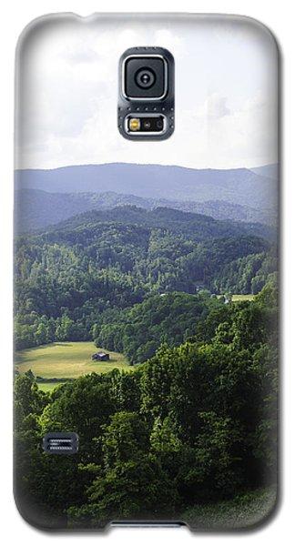 An Old Shack Hidden Away In The Blue Ridge Mountains Galaxy S5 Case