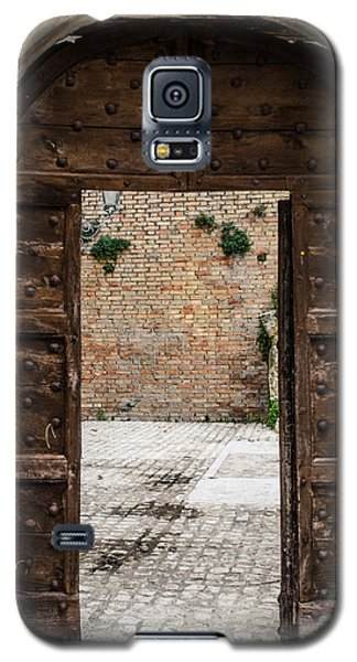 An Old Wooden Door 2 Galaxy S5 Case by Andrea Mazzocchetti