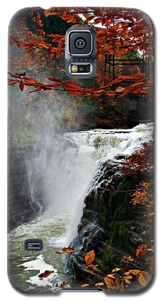 An Upper Letchworth Autumn Galaxy S5 Case