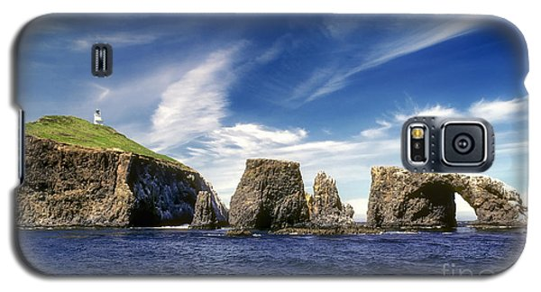 Channel Islands National Park - Anacapa Island Galaxy S5 Case by John A Rodriguez