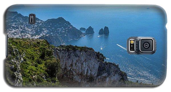 Anacapri On Isle Of Capri Galaxy S5 Case