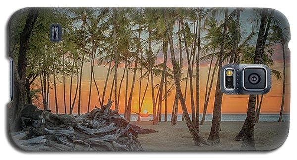 Anaehoomalu Beach Sunset Galaxy S5 Case
