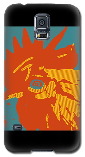Analog Rooster Rocks Galaxy S5 Case