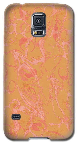 Analogous Dribble Painting Galaxy S5 Case