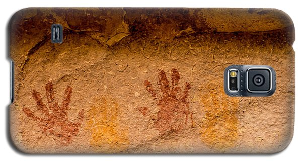 Anasazi Painted Handprints - Utah Galaxy S5 Case