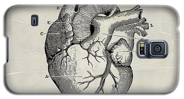 Anatomical Heart Medical Art Galaxy S5 Case