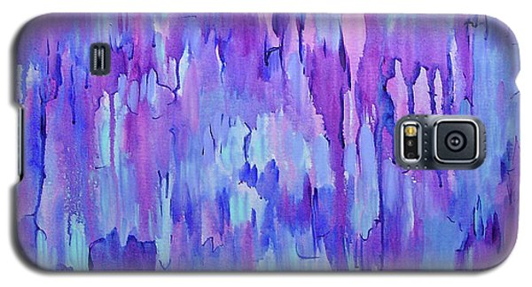 Galaxy S5 Case featuring the painting Ancestors by Lynda Lehmann