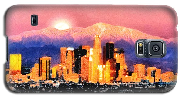 Galaxy S5 Case featuring the digital art Anchorage - Bright-named by Elaine Ossipov