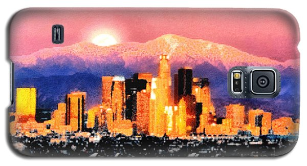 Anchorage - Bright-named Galaxy S5 Case by Elaine Ossipov