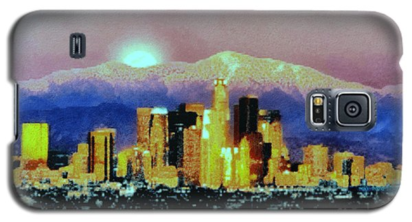 Galaxy S5 Case featuring the digital art Anchorage-subdued by Elaine Ossipov