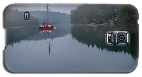 Galaxy S5 Case featuring the photograph Anchored At Horton Bay by Jacqui Boonstra