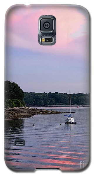 Anchored At Peaks Island, Maine  -07828 Galaxy S5 Case