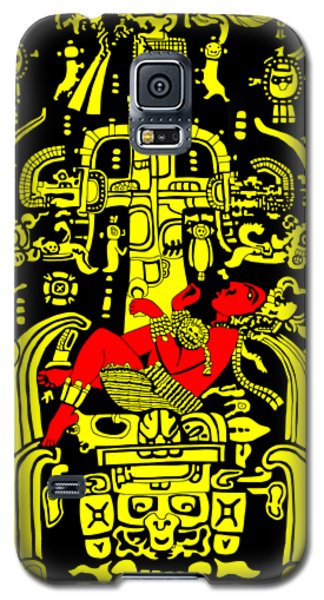 Ancient Astronaut Yellow And Red Version Galaxy S5 Case