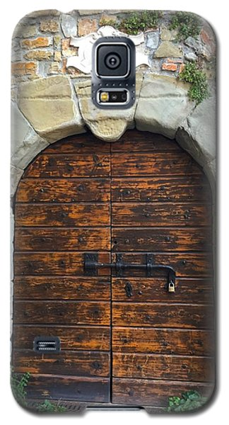 Ancient Castle Castel Door Trieste Galaxy S5 Case