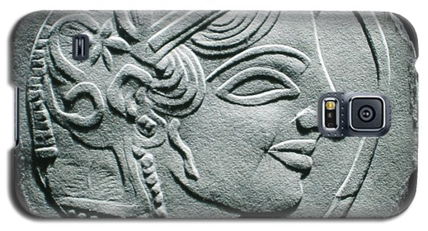 Ancient Greek Relief Seal Drawing Galaxy S5 Case