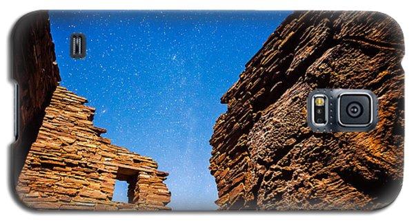 Ancient Native American Pueblo Ruins And Stars At Night Galaxy S5 Case