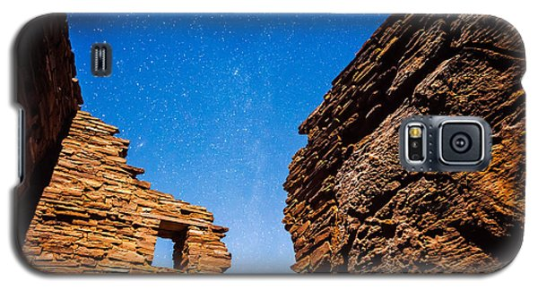 Ancient Native American Pueblo Ruins And Stars At Night Galaxy S5 Case