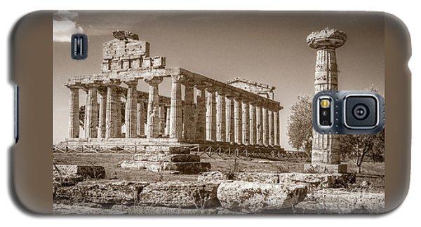 Ancient Paestum Architecture Galaxy S5 Case