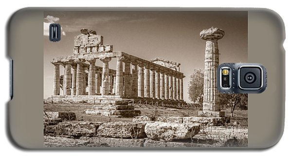 Ancient Paestum Architecture Galaxy S5 Case