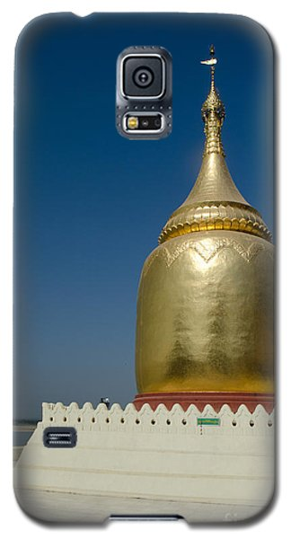 Ancient Riverside Stupa Along The Irrawaddy River In Burma Galaxy S5 Case