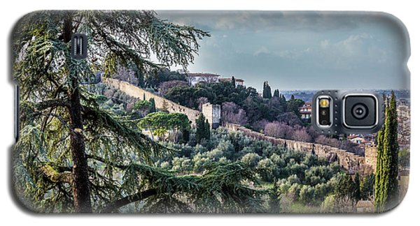 Ancient Walls Of Florence Galaxy S5 Case