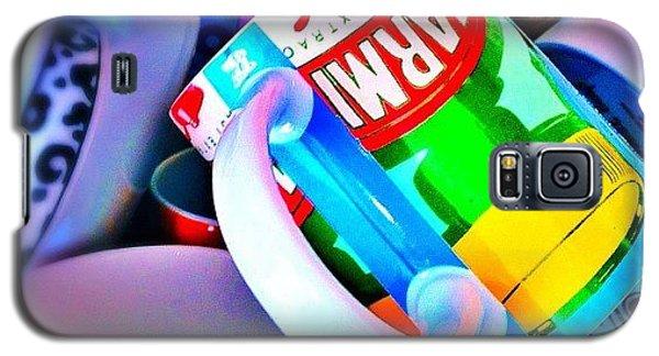 And A Jumble Of Mugs.... #mugs #jumble Galaxy S5 Case by Mark  Thornton