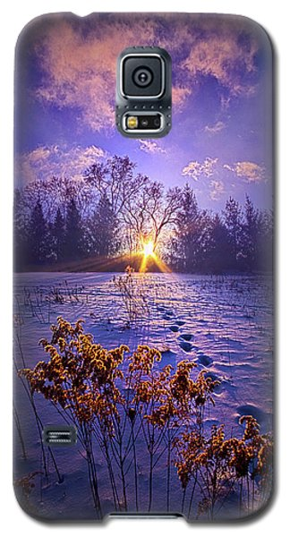 Galaxy S5 Case featuring the photograph And Back Again by Phil Koch